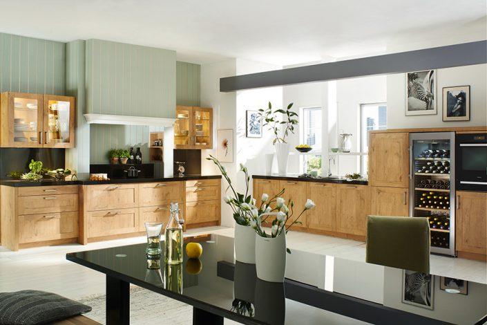 landhaus ihre k che aus stadtlohn. Black Bedroom Furniture Sets. Home Design Ideas